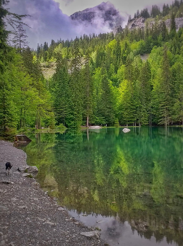 lake hike chamonix